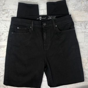 7 For All Mankind Jeans - 7 For All Mankind High Waist Ankle Gwenevere Jeans